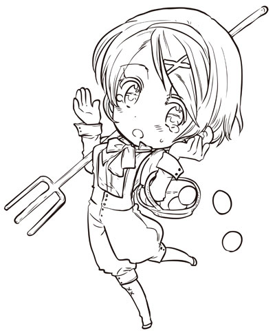 anime hetalia coloring pages - photo#23