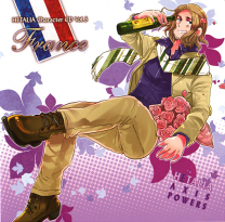 Hetalia France CD.png