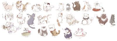 One Feisty Feline [Cat!Romano X Human!Reader] by BlueTransfusion13 ...